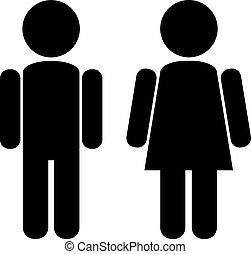 Mujer masculina