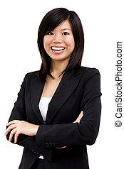Mujeres asiáticas de negocios