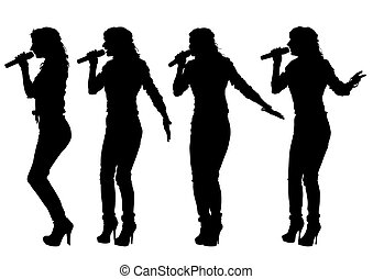 mujeres, cantante