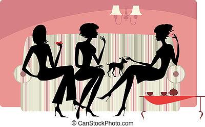 Mujeres que hablan