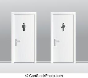 mujeres, servicios, hombres