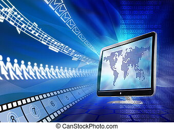 multimedia, portal