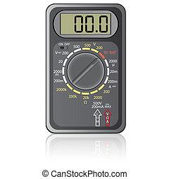 multimeter., digital