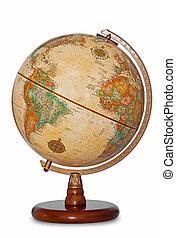 Mundo Antigüedad mundial aislado.