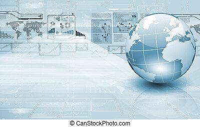 mundo, tecnología