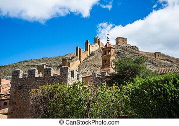 Muro de Albarracin, teruel, spain.