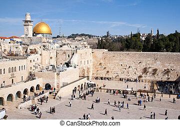 muro lamentaciones, israel, -