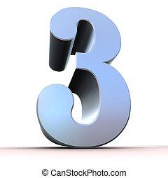 Número de plata - 3
