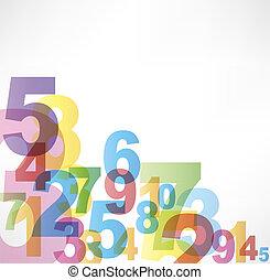 Números de antecedentes