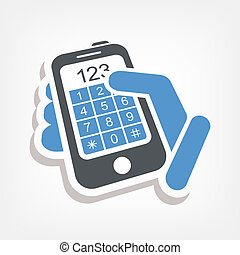 Números de botones