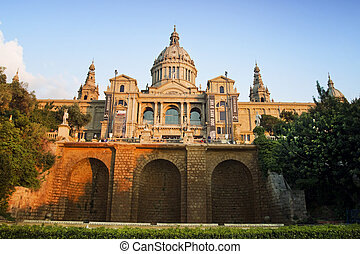 nacional, museo arte, catalunya