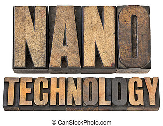 Nanotechnología del tipo de madera