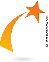 Naranja estrella fugaz