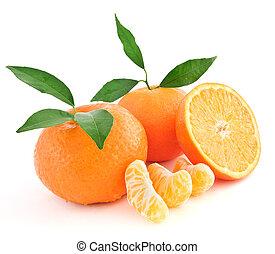 naranjas mandarinas