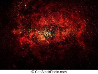 nasa., imágenes, www., collage, nebulae., gov
