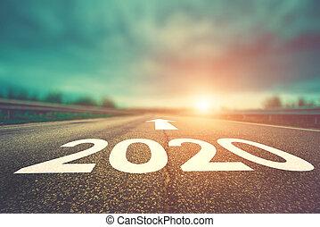 natural, plano de fondo, 2020