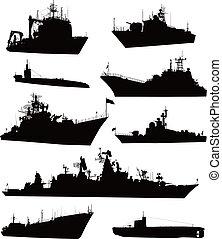 naval, conjunto