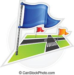 Navegación con banderas