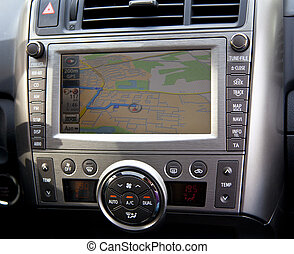 Navegación de autos en detalle con ruta