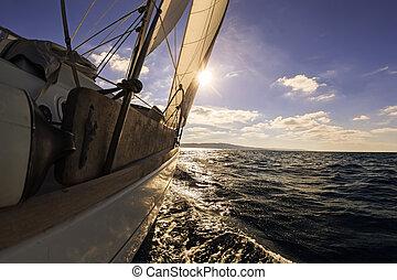 Navegando desde un amplio ángulo de vista