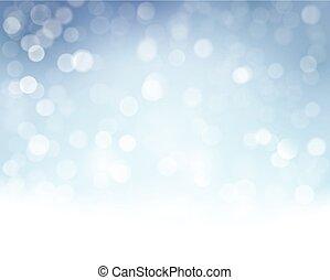 Navidad brillante, fondo festivo con luces borrosas