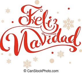 navidad, feliz, alegre, español, traducción, navidad