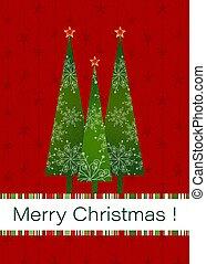 navidad, plano de fondo, saludo, rojo