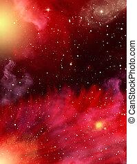 nebulae, estrellas