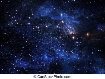 Nebulosas del espacio profundo