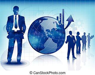 Negocios azules y antecedentes tecnológicos