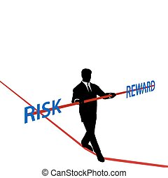 Negocios equilibrados RISK REWARD