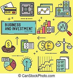 Negocios y vector de inversión