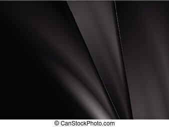 Negro abstracto corporativa rayas suaves fondo