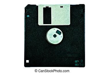 negro, disquete