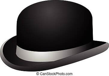 negro, jugador de bolos sombrero