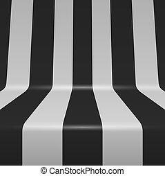 Negros y blancos verticales rayas vectores de fondo.
