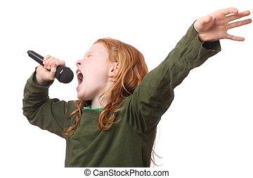 niña, canto