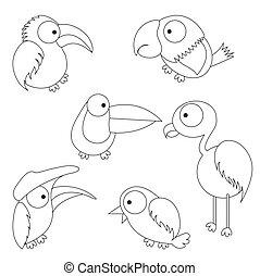 Niño pájaro