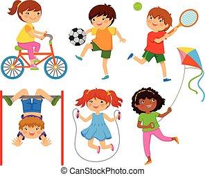 Niños activos