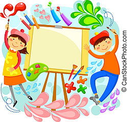 Niños artísticos