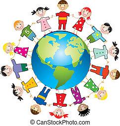 Niños de todo el mundo