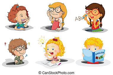 Niños en agujero