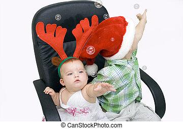 Niños en Navidad