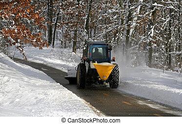 nieve, arada