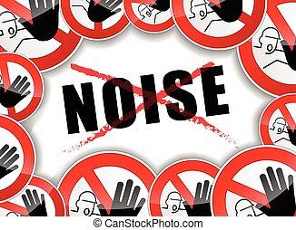 Ningún concepto abstracto de ruido