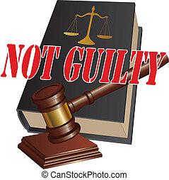 no culpable, veredicto