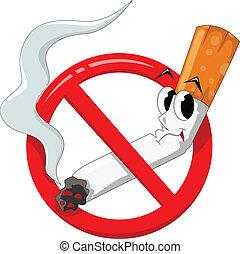No fumar caricaturas