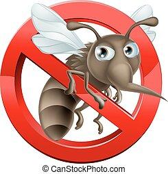 No hay señal de mosquito