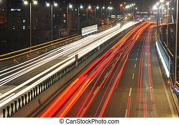 Noche de carretera