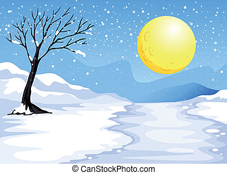 Noche de nieve